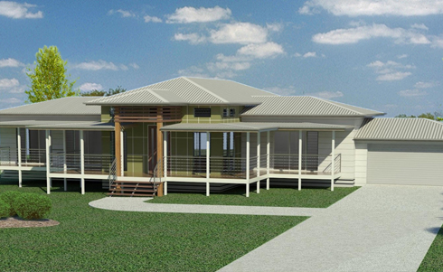 Hydra traditional queenslanders for Modern queenslander home designs