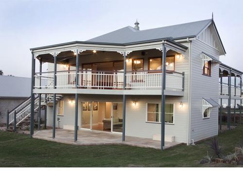 Georgina traditional queenslanders for Queenslander exterior colour schemes
