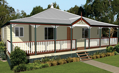 Queenslander 167 classic traditional queenslanders for Classic queenslander house